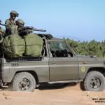 Toyota Land Cruiser equipado com Lança Granadas Automático (HK GMG) de 40mm