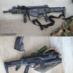 Espingarda de Assalto Beretta ARX160 e GLX 160 lança granadas do Reggimento Lagunari Serenissima