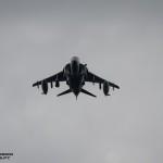AV-8B Harrier II Espanhol em missão CAS (Close Air Suport)