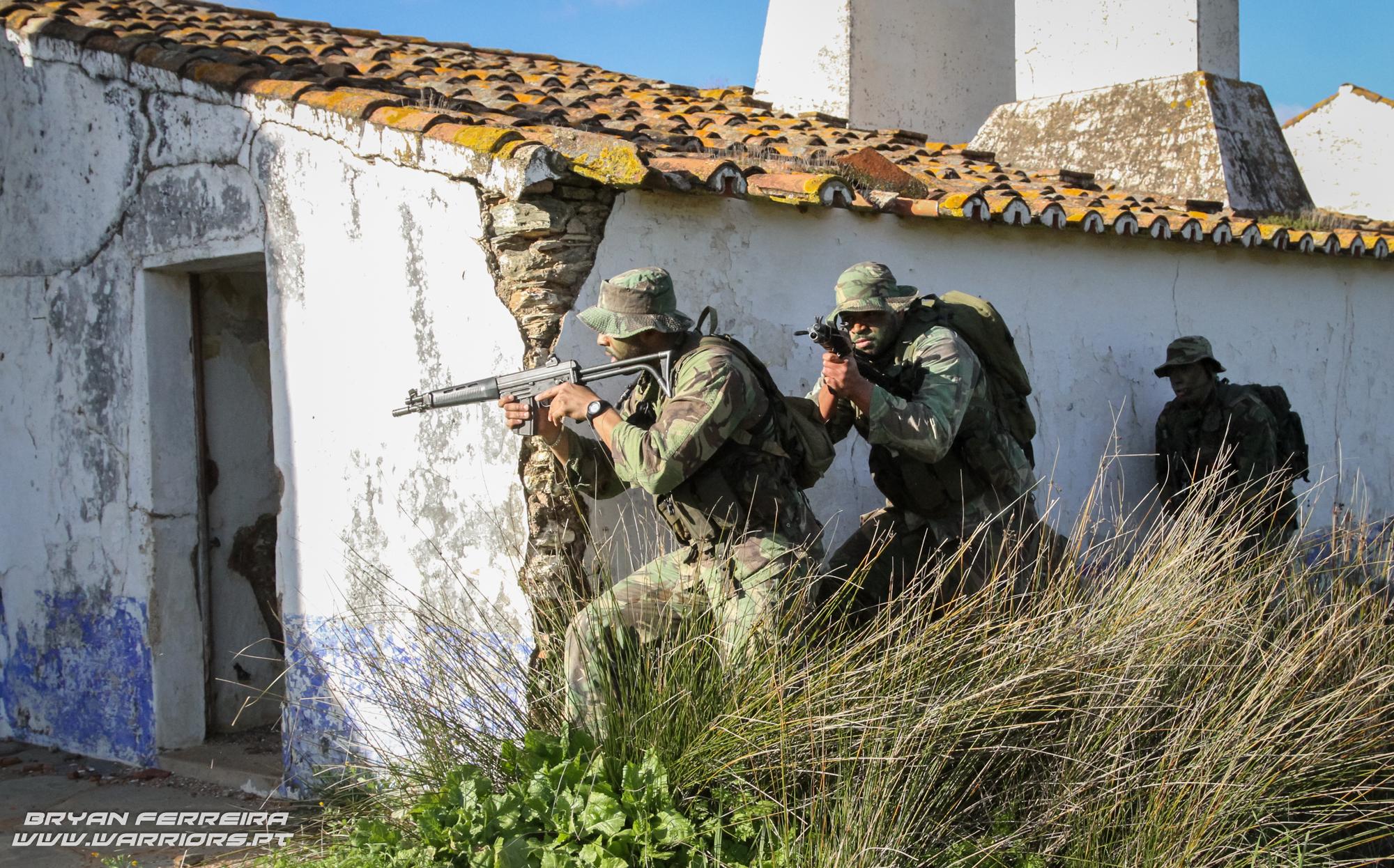 Comandos executam de uma missão de Ação Directa