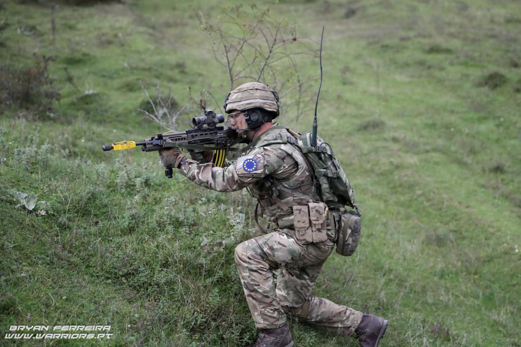 Soldado do Reino Unido (UK Intermediate Reserve Forces - British Army Royal Anglian Regiment B Company)