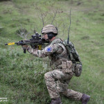 Soldado do Reino Unido (UK Intermediate Reserve Forces - British Army Royal Anglian Regiment B Company)