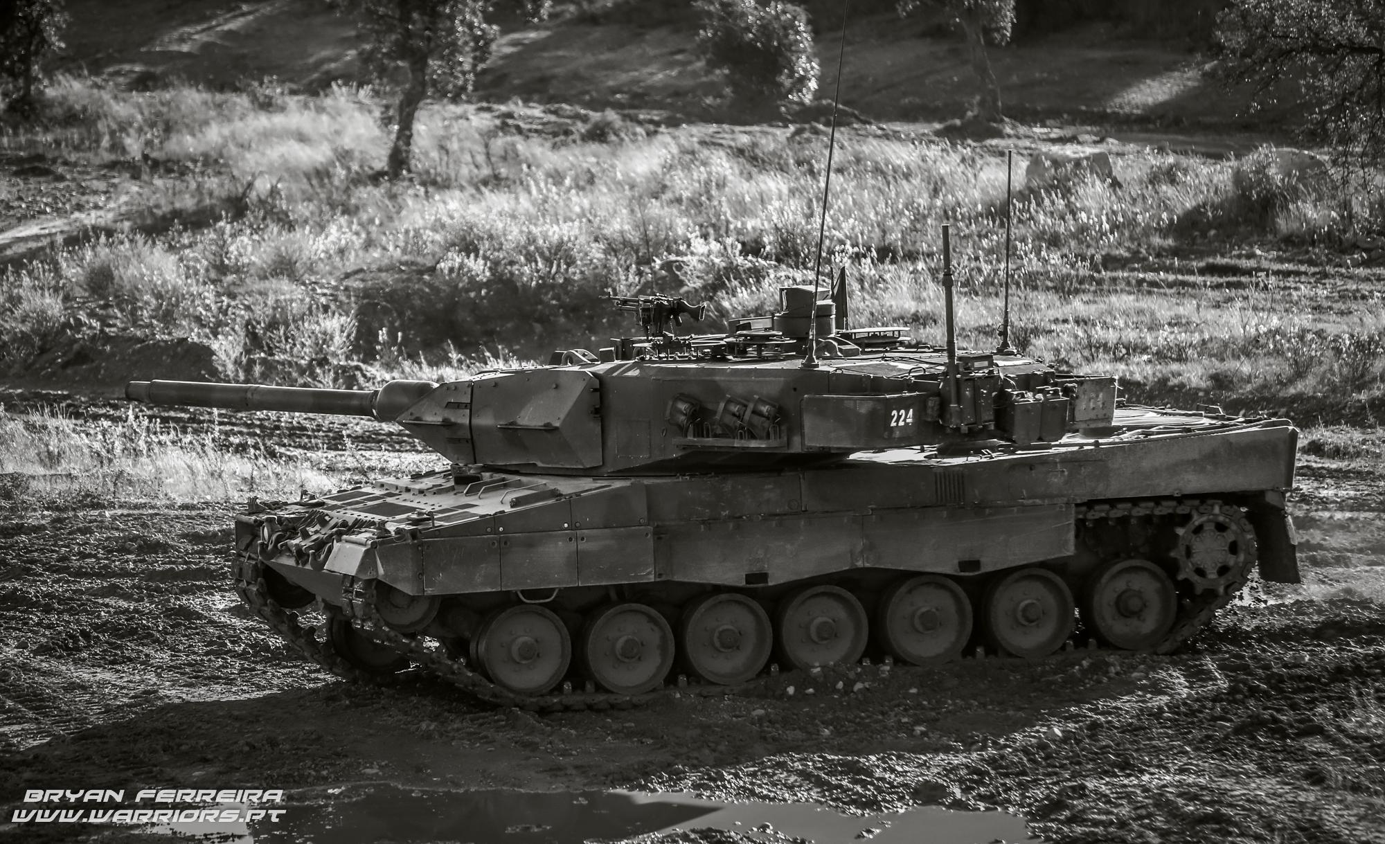 Portuguese Mechanized Brigade Leopard 2A6 Tank