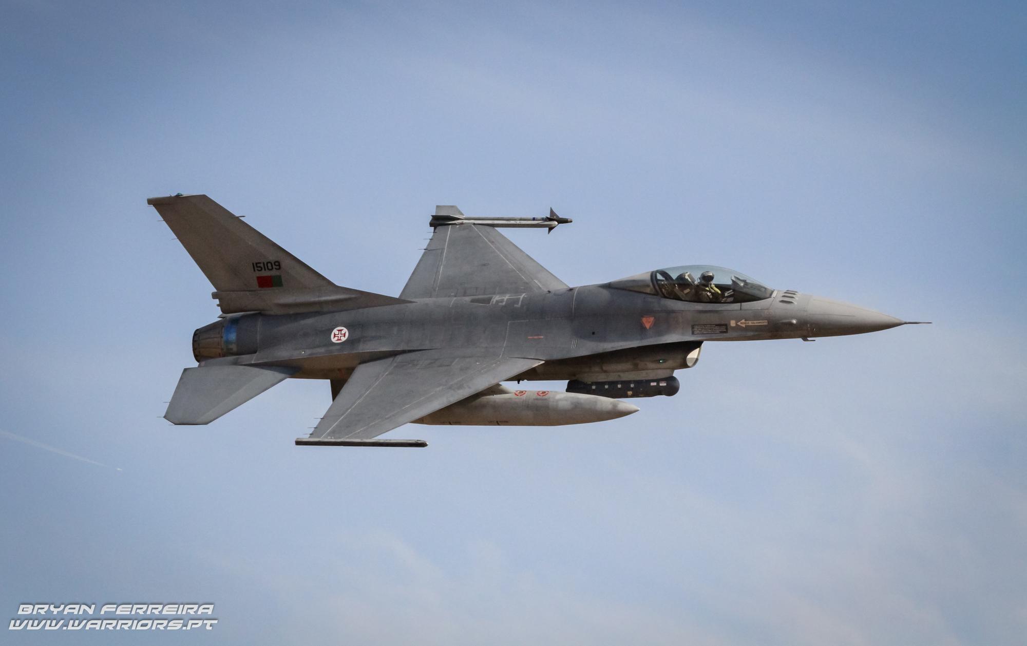 Portuguese Air force F16