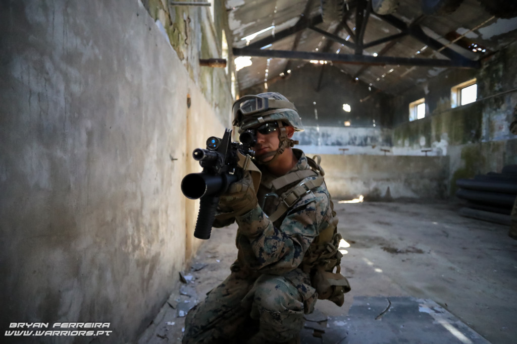 US Marine M4+M103