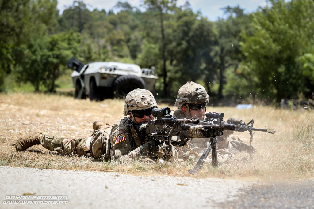 1º BIPARa and 173rd Airborne Brigade M240 Orion 17