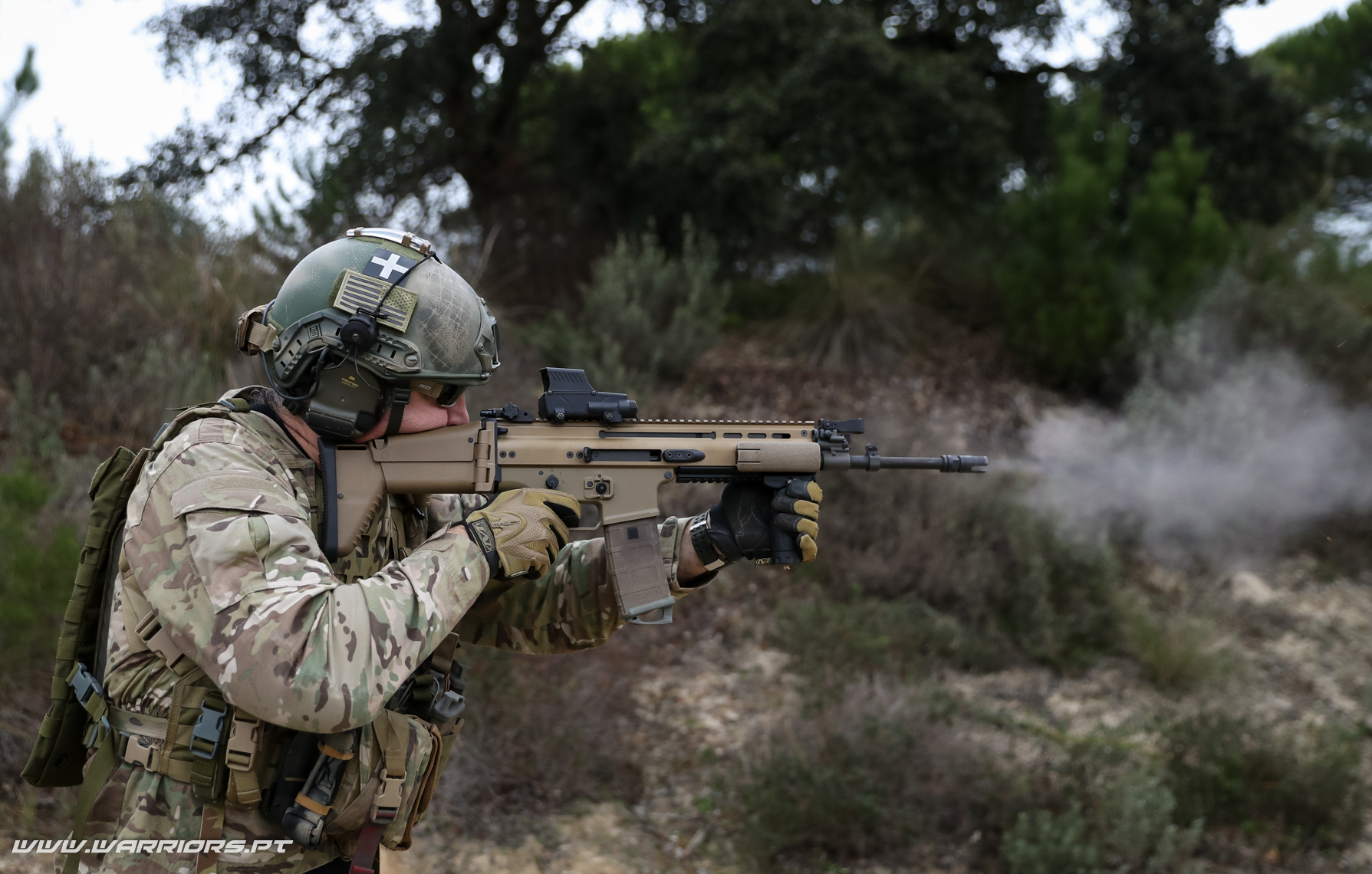 Substituição da G3. Rangers Special Forces FN SCAR-L 5,56x45mm New assault rifle for the Portuguese Army