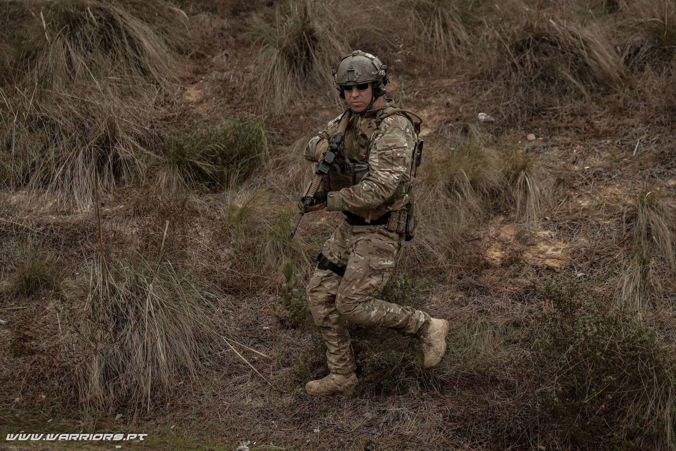 Substituição da G3 - Rangers Special Forces FN SCAR-L 5,56x45mm Meprolight M5