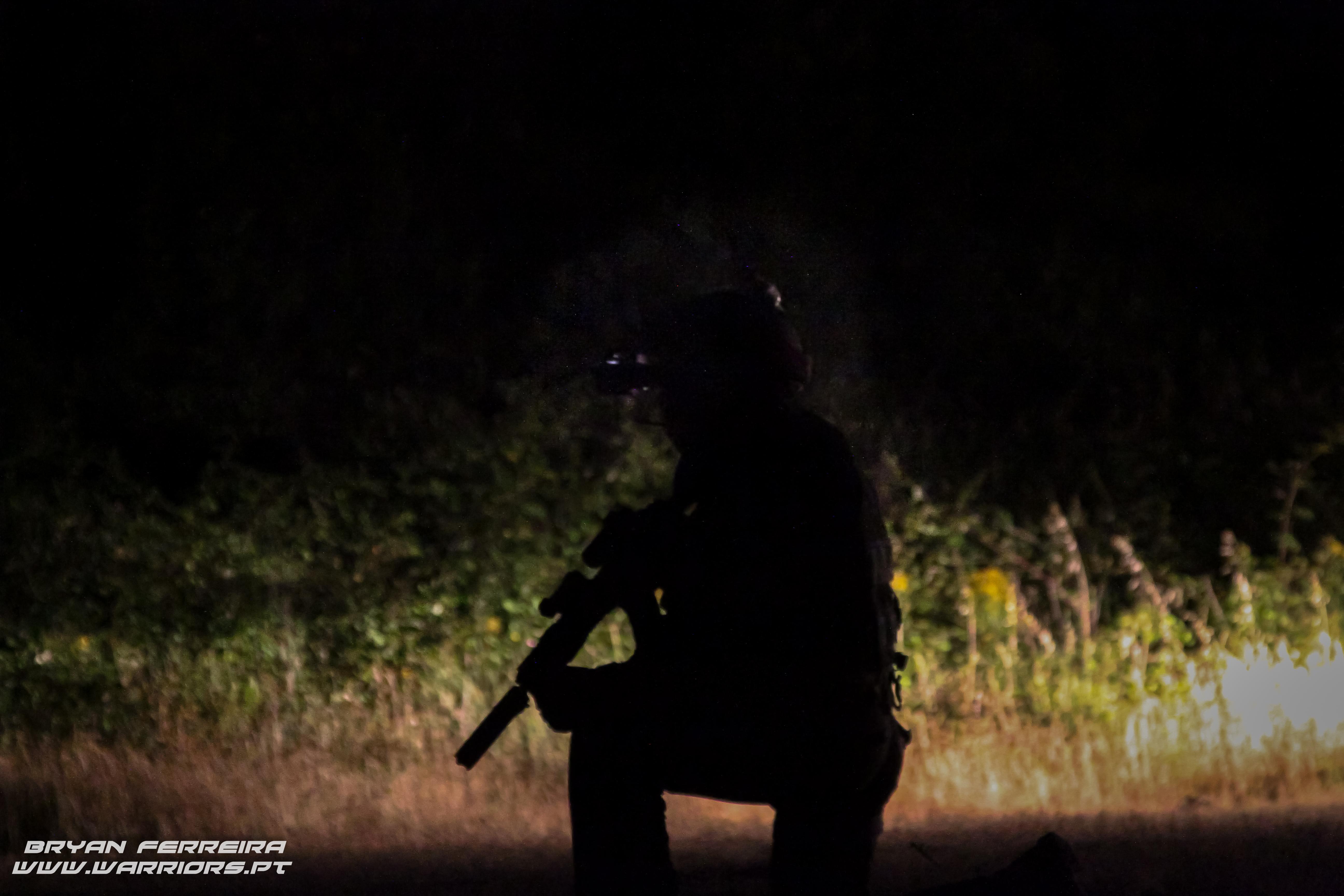 Forca de Operacoes Especiais executa raid nocturno para resgate de refens