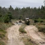 Batalhao de Infantaria Mecanizada em deslocamento