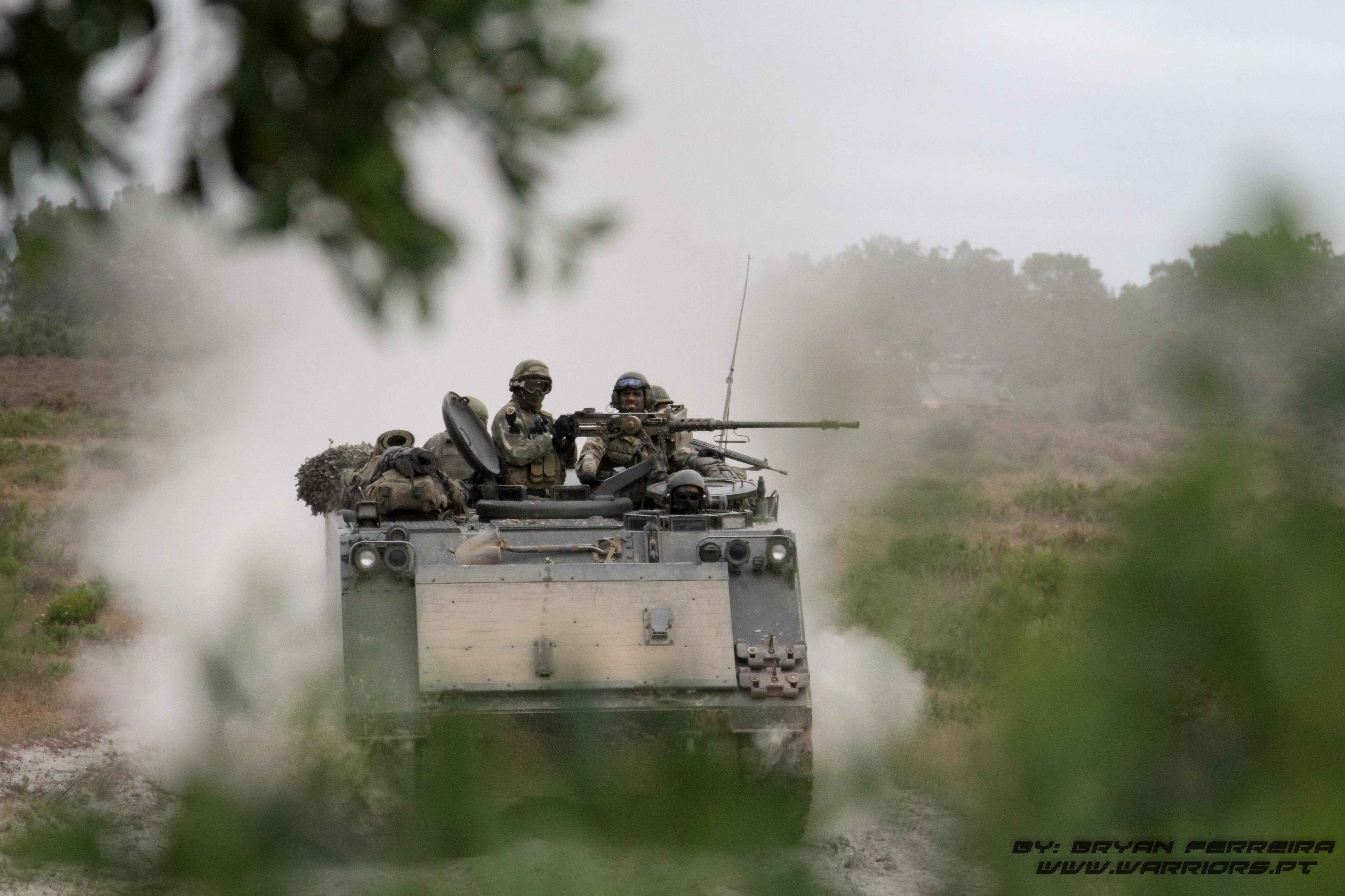 Veiculo M113 do Batalhao de Infantaria Mecanizada