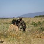 Comandos Portugueses tomam posição defensiva com Mg4