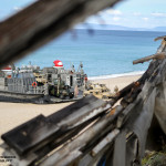 LCAC desembarca HMMWV dos US MArines na praia