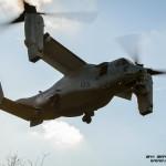 V22 dos US Marines transporta Fuzileiros Portugueses numa missão de assalto aéreo