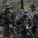 Comandos comunicam a sua posição para extração após execução de uma missão de Ação Directa