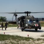 AIRMEDEVAC, Paratrooper, Portuguese 2nd Parachute Battalion, MNBG-E (Multinational Battle Group - East)