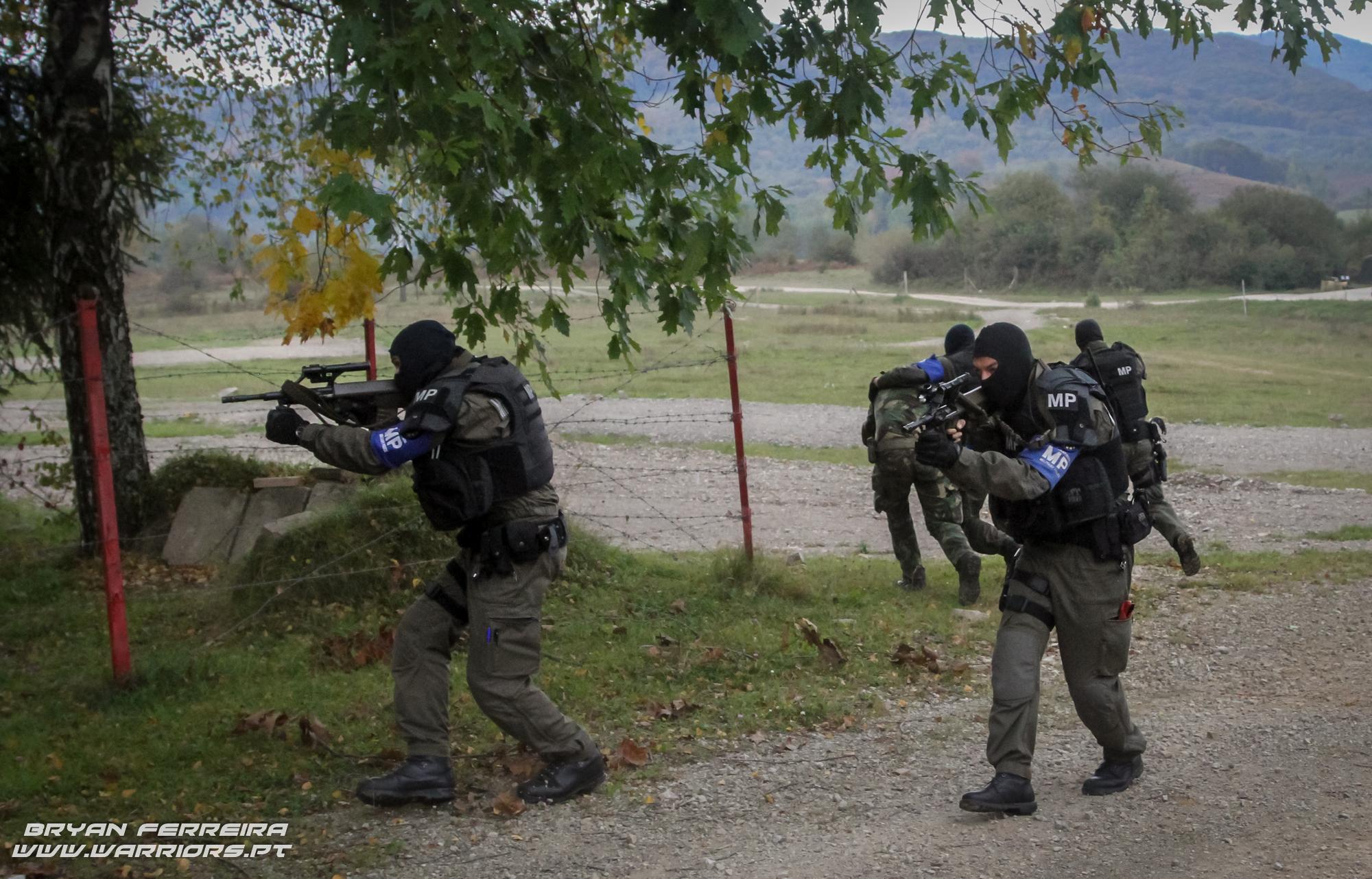 A International Military Police (IMP) providencia Close Protection ao Comandante Português.