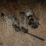 Uma equipa de Snipers Elemento da Força de Operações Especiais (Army SOF) Portuguesa mantém-se atento a qualquer ameaça. Estam armados com espingardas de assalto HK416, carabina de precisão Accuracy International e equipados com modernos equipamentos de combate nocturno.