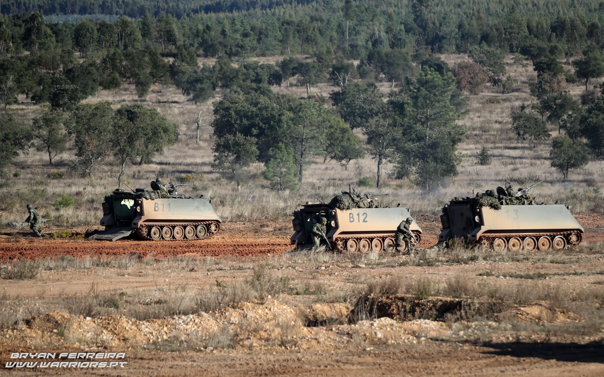 M113 dismounted Infantry