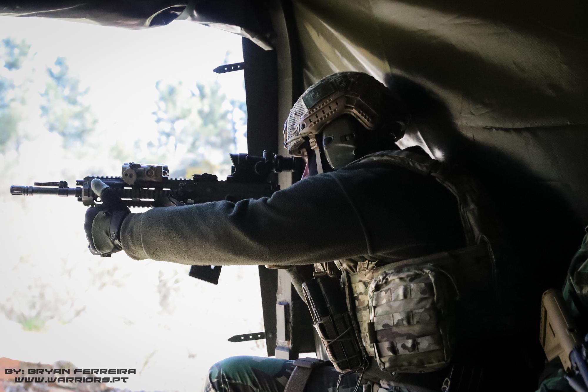 Portuguese Special Operations Forces Trijicom ACOG