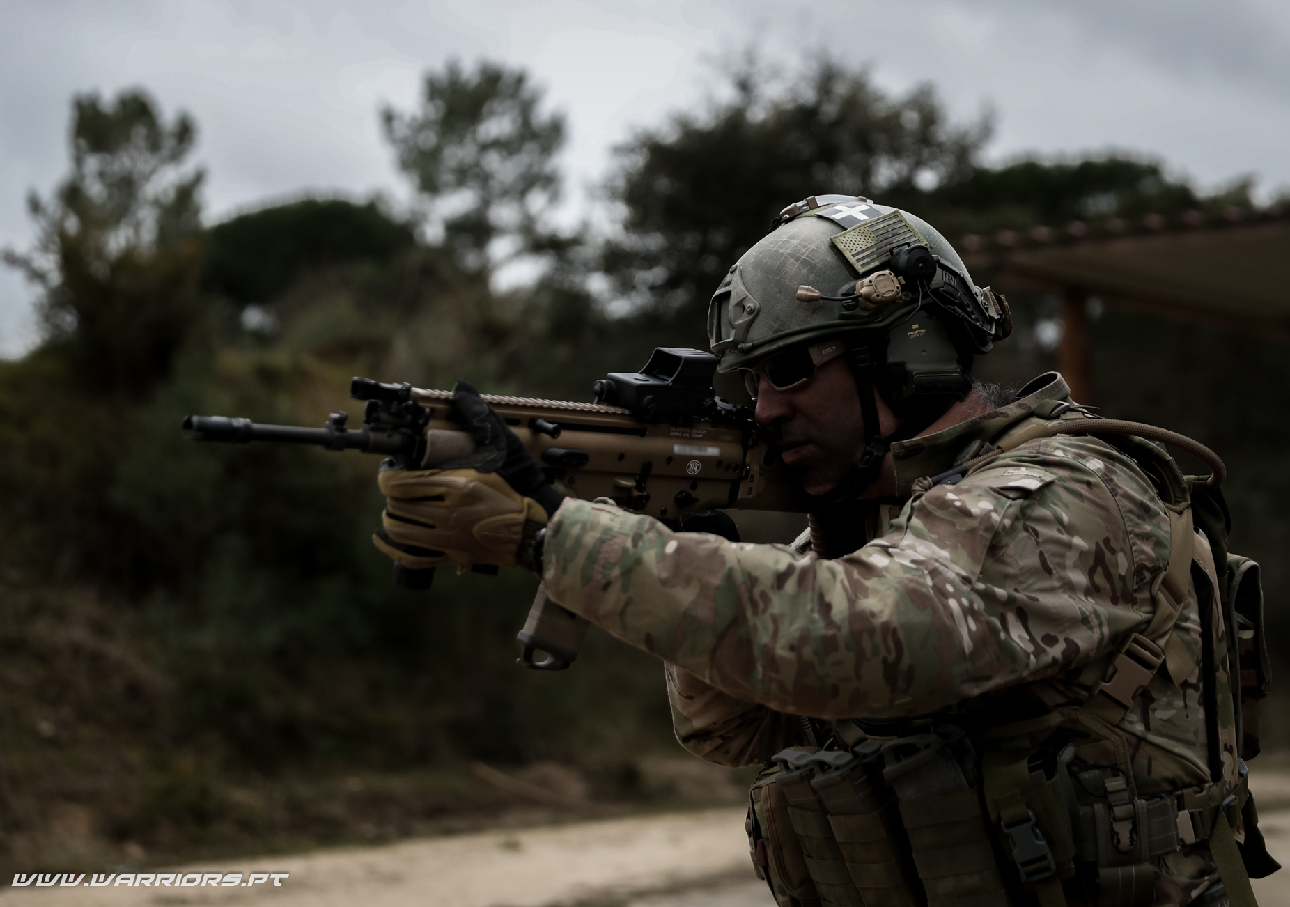 Rangers Special Forces FN SCAR-L 5,56x45mm