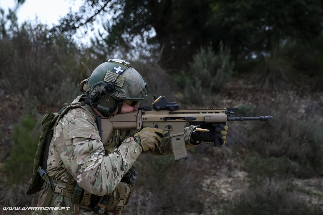 Substituição da G3 - Rangers Special Forces FN SCAR-L ou FN SCAR MK16 New assault rifle for the Portuguese Army