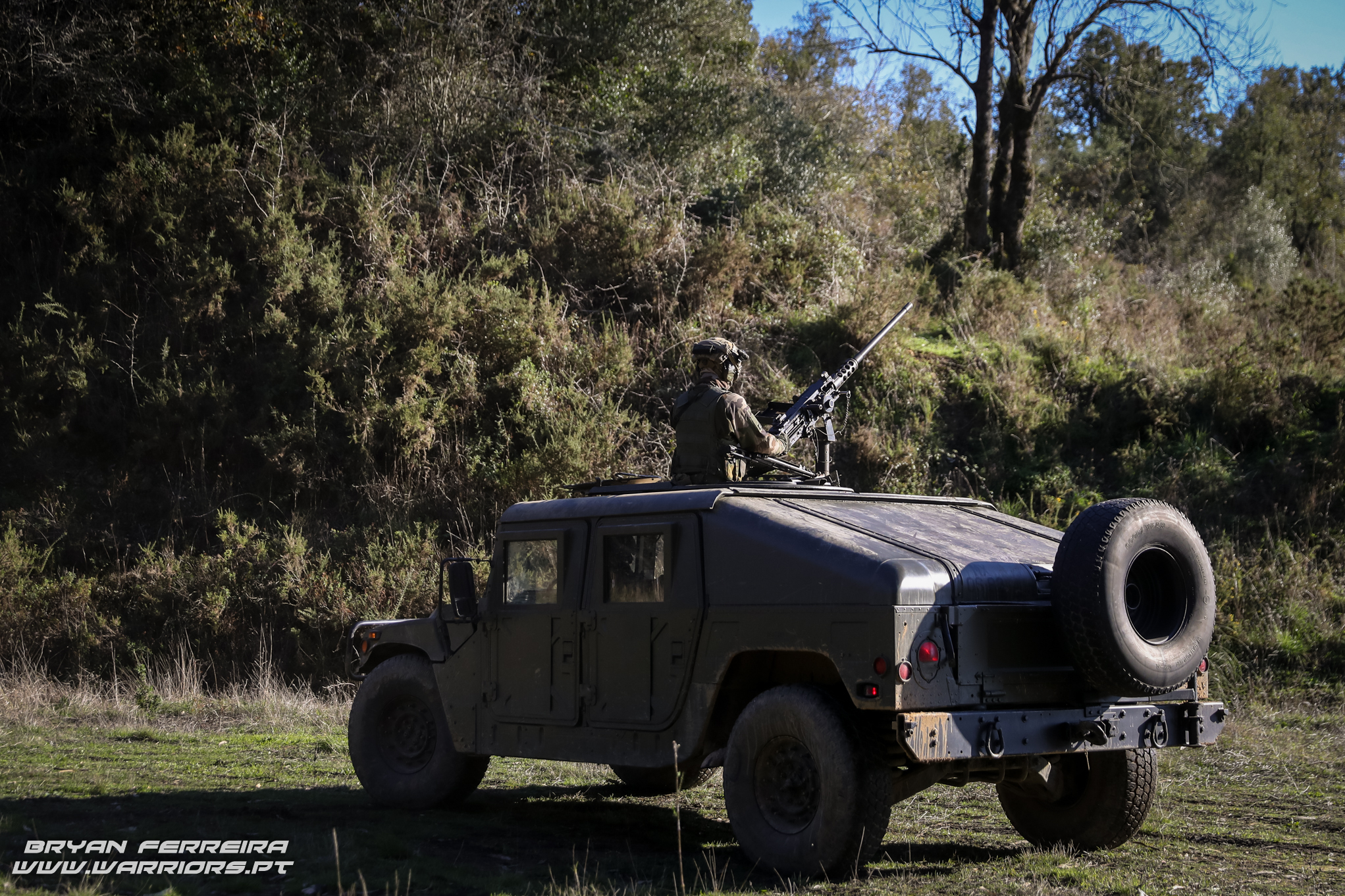 Humvee with Browning .50Cal BMG