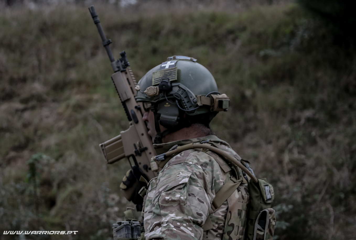 Rangers Special Forces FN SCAR-H 7,62x51mm