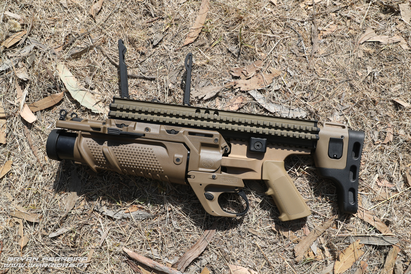 Portuguese Army FN40 Grenade LAuncher